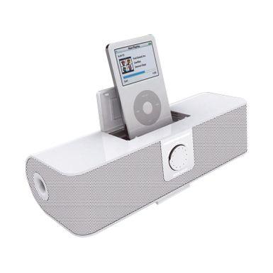 Parlantes-de-color-blanco-con-puerto-de-entrada-para-MP3-MP4