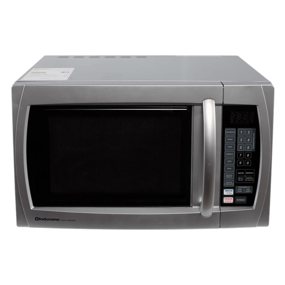 Microondas indurama 3kemw289ia de 1 pie 28 litros for Hornos domesticos electricos