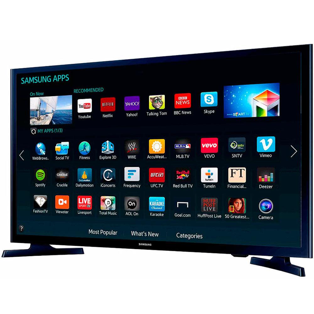 televisor led smart samsung un43j5200a p2 43 hd netflix negro creditofacilito. Black Bedroom Furniture Sets. Home Design Ideas