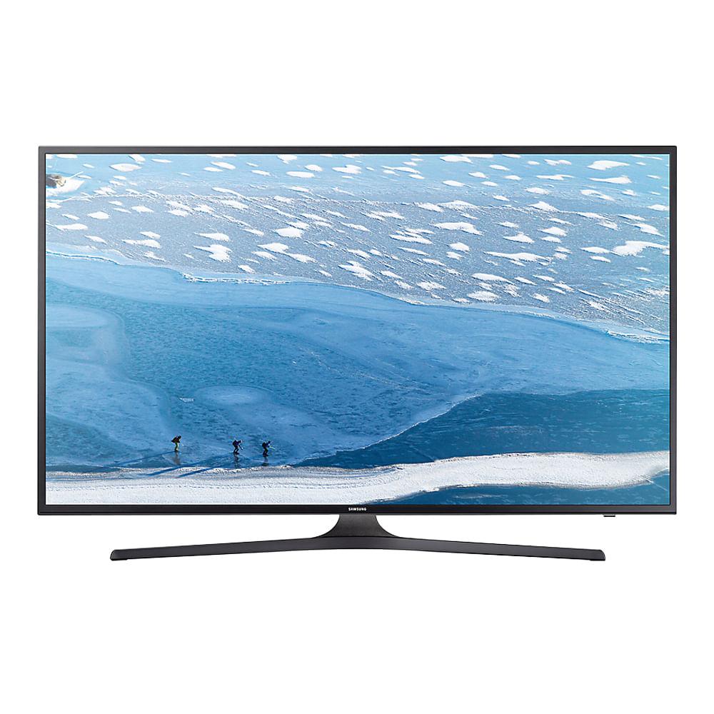 Televisor 4K Flat Smart TV Samsung UN60KU6000HXPA negro 60 pulgadas ...