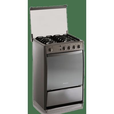 Cocina toledo a gas indurama tol000 cromado 4 quemadores for Cocinas a gas economicas