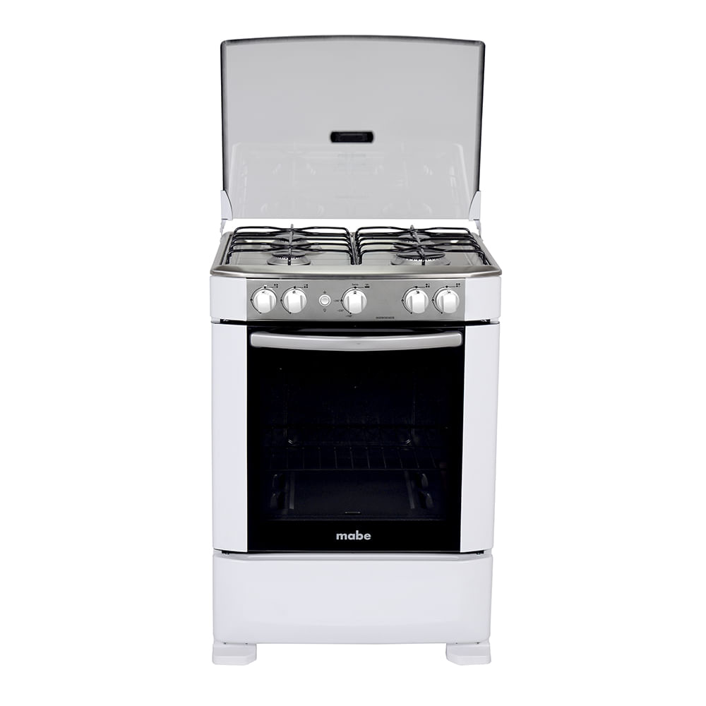 Cocina a gas ingenious 60cm blanca mabe ingenious6020eb1 for Cocinas economicas a gas