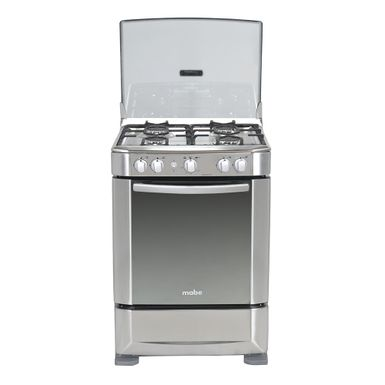 Cocina a gas ingenious 60cm inox mabe ingenious6060ex1 for Cocinas a gas economicas