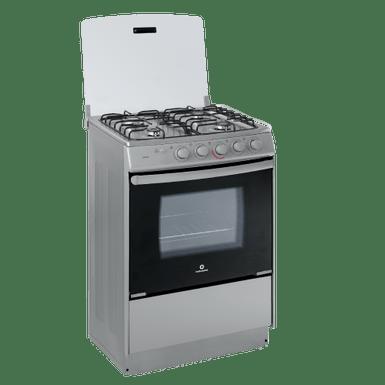 Cocina a gas corunia indurama cou001 c gris 60cm 24 for Cocinas a gas economicas