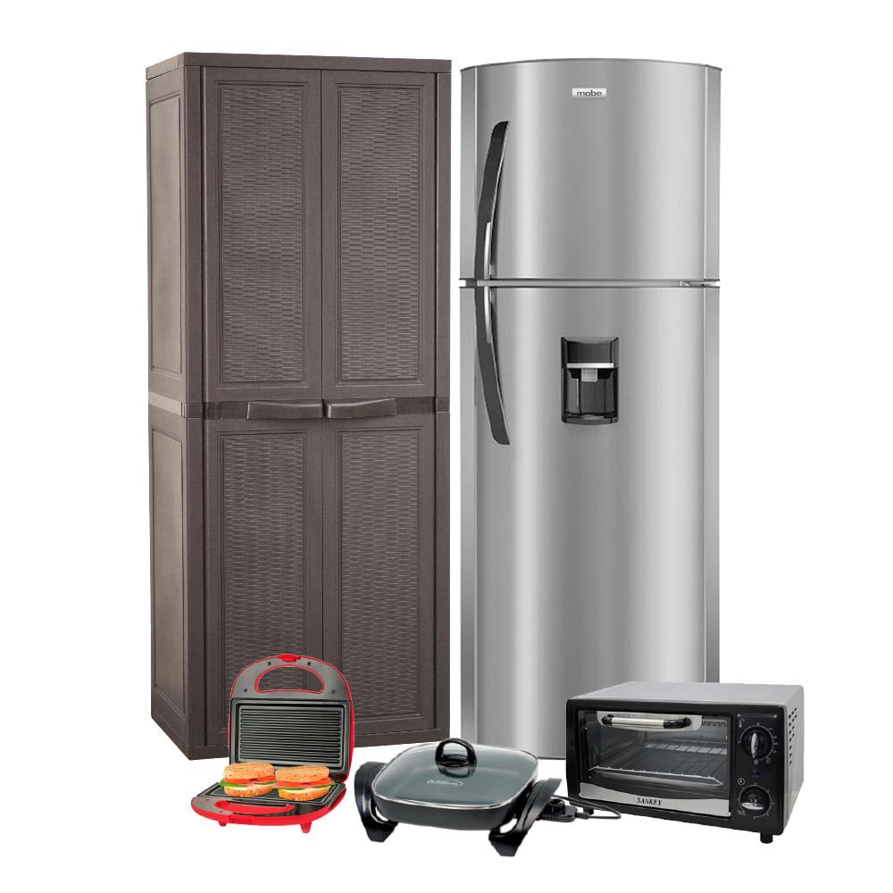 Refrigeradora mabe rml250yjess c gratis armario for Hornos domesticos electricos