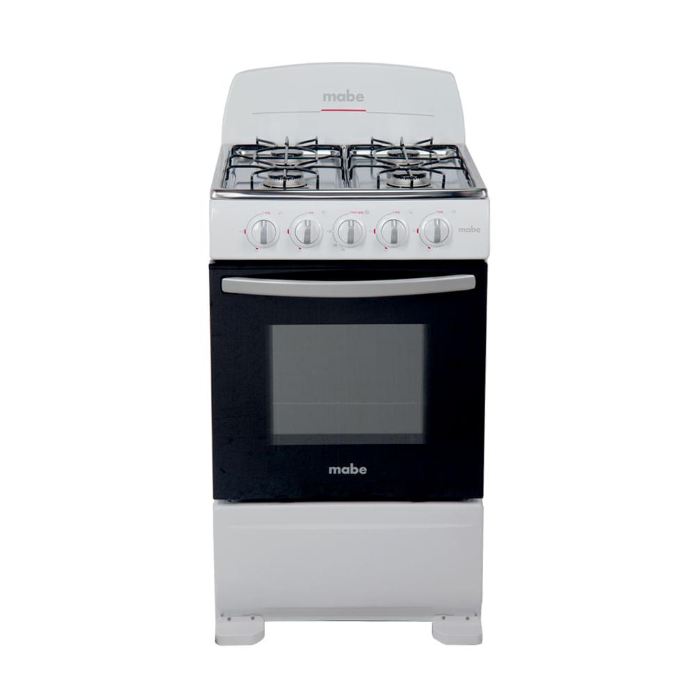 Cocina a gas mabe em5105eb0 blanco 51 cm creditoseconomicos for Cocinas a gas economicas