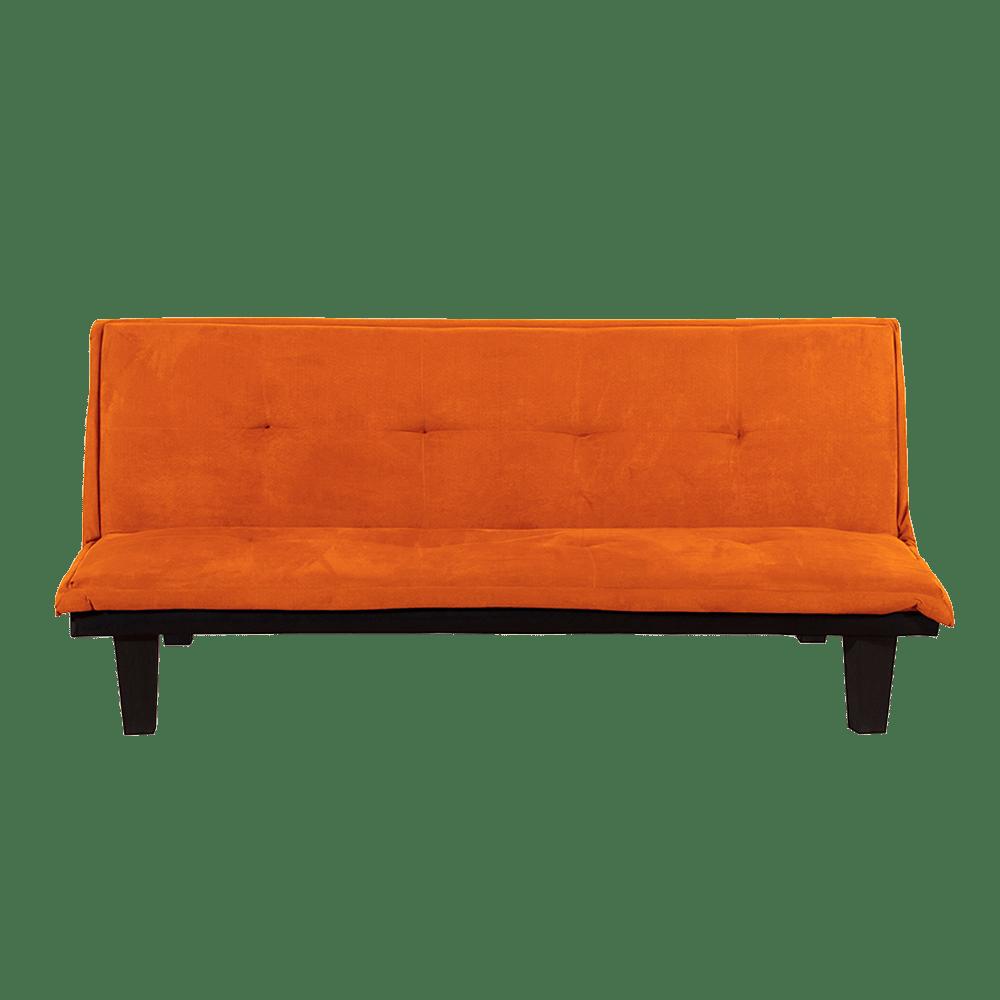 Sofa cama andy color naranja creditoseconomicos for Sofa cama colores