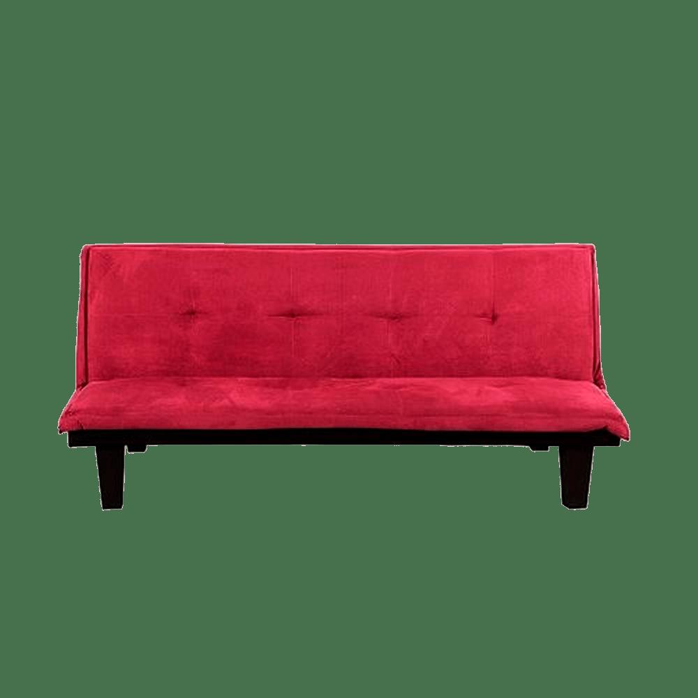 Sofa cama andy color rojo creditoseconomicos for Sofa cama colores