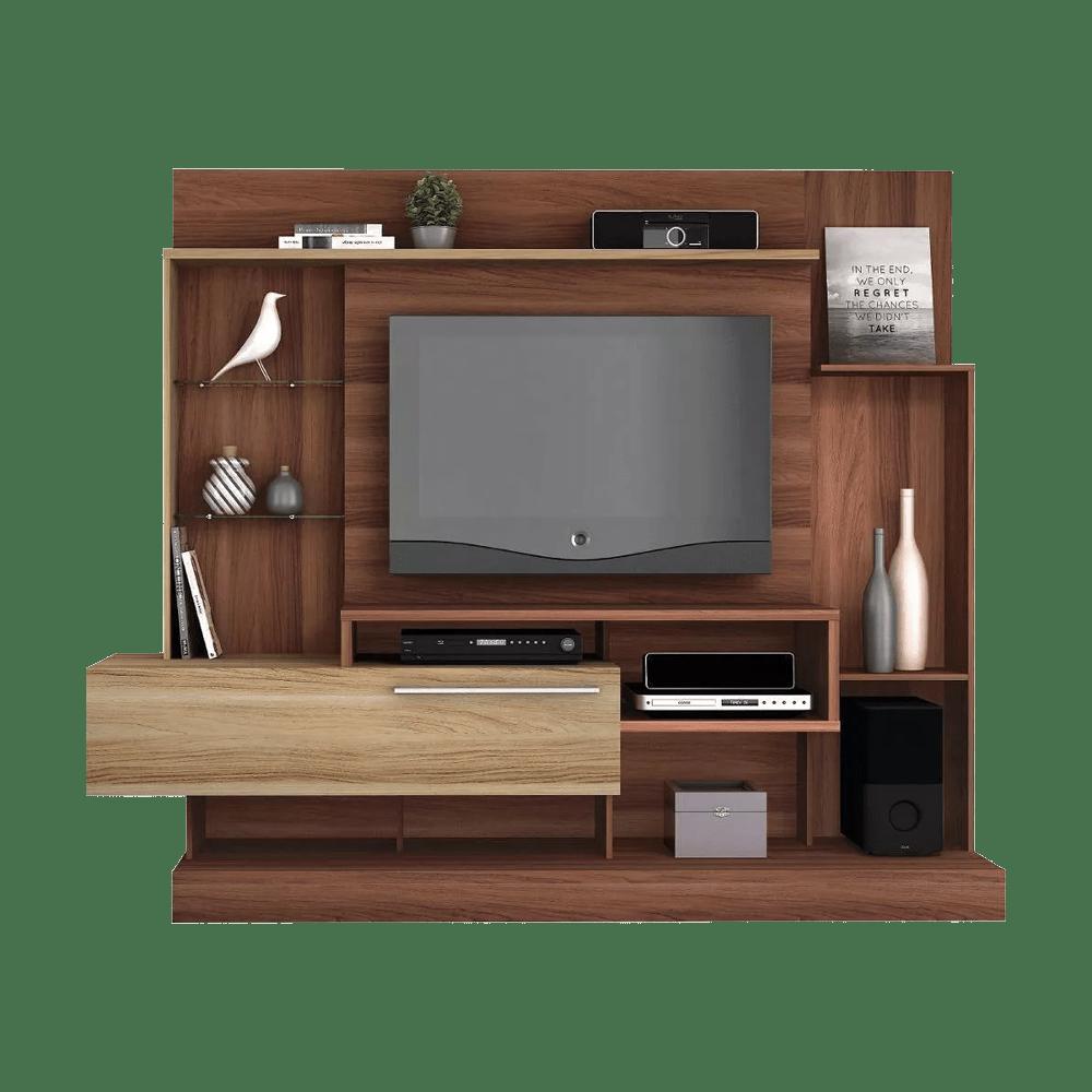 Centro de entretenimiento supremo 7285 105 w mueble para for Modelos de muebles para tv