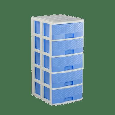 Comoda-Rattan-Celeste-Pastel-5-pisos