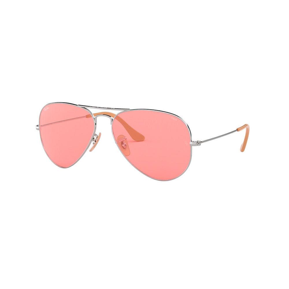 6ba5a8912d Ray Ban Aviator Large Metal 3025-9065V755-W Color rosa plata ...