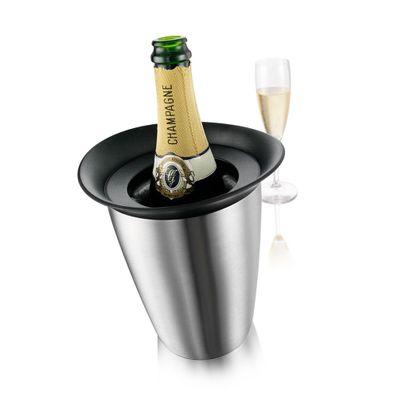 Active-Cooler-Champagne-Vacuvin-Elegant-Stainless-Steel-Vv-COOCHAELEG-W