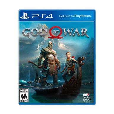 Videojuego-PS4-God-of-War-GOW-N-W