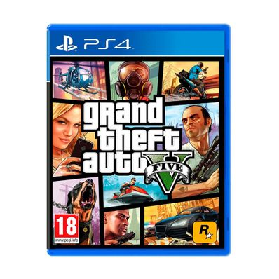 Videojuego-PS4-Grand-Theft-Auto-V-GTAV-N-W