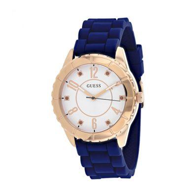 Reloj-para-Dama-Guess-Cabana-Correa-de-Silicona-Azul-W1095L2-W