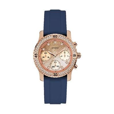 Reloj-para-Dama-Guess-Confetti-Correa-de-Silicona-Azul-W1098L6-W