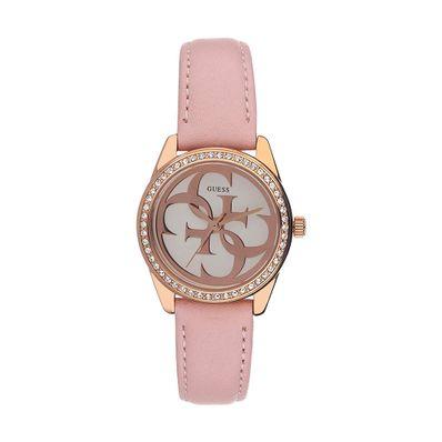 Reloj-para-Dama-Guess-Micro-G-Twist-Correa-de-Cuero-Rosado-W1212L1-W