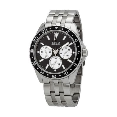 Reloj-para-Caballero-Guess-Odyssey-Acero-Inoxidable-Plata-W1107G1-W
