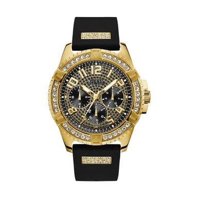 Reloj-para-Caballero-Guess-Frontier-Correa-de-Silicona-Negro-W1132G1-W