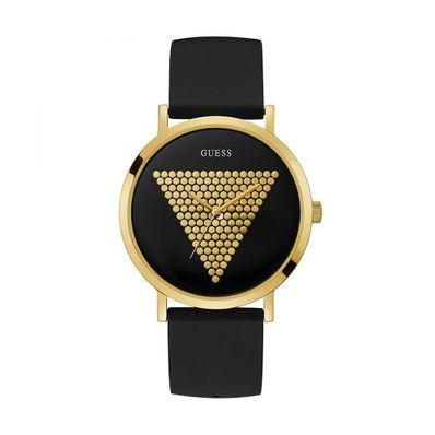 Reloj-para-Caballero-Guess-Imprint-Correa-de-Silicona-Negro-W1161G1-W