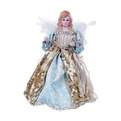 Figura-Decorativa-de-Angel-20.36-cm-Celeste-con-Dorado160-7000058-W