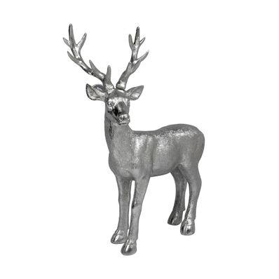 Figura-Reno-49-cm-Plateado-068-758953-W