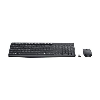 Teclado-y-Mouse-Inalambrico-Logitech-LOGITECHMK235-W-Teclas-Planas