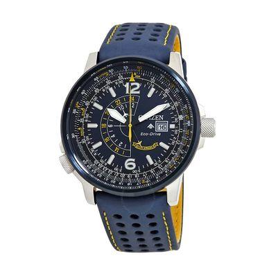Reloj-para-Caballero-Citizen-Blue-Angels-Ecodrive-Resistente-al-Agua-Azul-BJ7007-02L-W