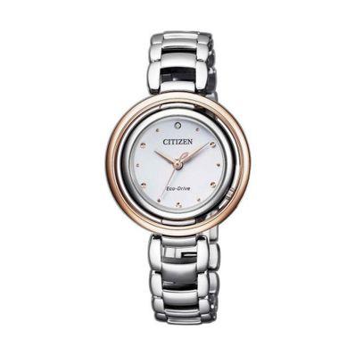 Reloj-para-Dama-Citizen-Lady-Ecodrive-Acero-Bicolor-Plata-EM0668-83A-W