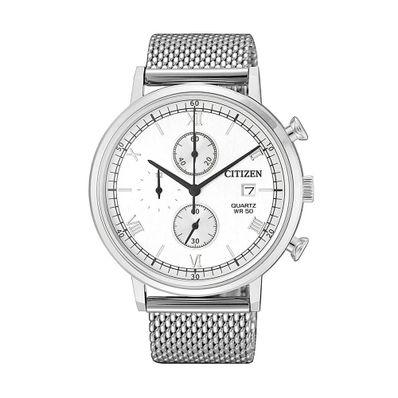 Reloj-para-Caballero-Citizen-AN3610-80A-Resistencia-al-Agua-Plata-AN3610-80A-W