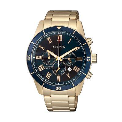 Reloj-para-Caballero-Citizen-AN8169-58L-Resistente-al-Agua-Dorado-AN8169-58L-W