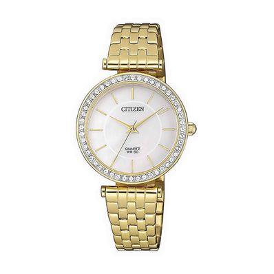 Reloj-para-Dama-Citizen-ER0212-50D-Resistente-al-Agua-Dorado-ER0212-50D-W