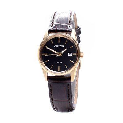 Reloj-para-Dama-Citizen-EU6002-01E-Correa-de-Cuero-Cafe-EU6002-01E-W