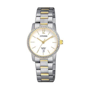 Reloj-para-Dama-Citizen-EU6038-89A-Correa-Bicolor-EU6038-89A-W