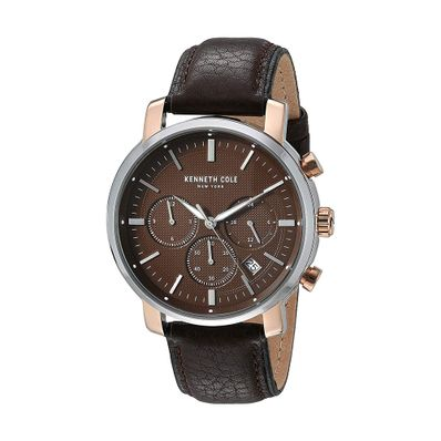 Reloj-para-Caballero-Kenneth-Cole-Cuarzo-Cafe-KC50775003-W