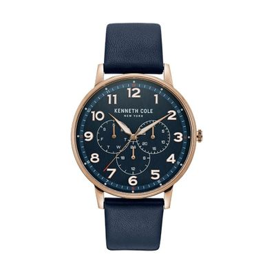 Reloj-para-Caballero-Kenneth-Cole-Acero-Inoxidable-Azul-KC50801003-W