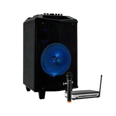 Combo-Parlante-Bazzuka-B208P-Negro-y-Microfono-Inalambrico-M101-Negro-B208P-M101-W