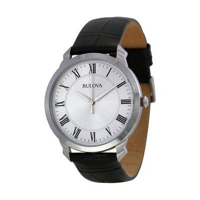 Reloj-para-Caballero-Bulova-Classic-Resistente-al-Agua-Negro-96A133-W