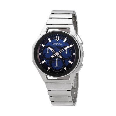 Reloj-para-Caballero-Bulova-Curv-Acero-Inoxidable-Plata-96A205-W