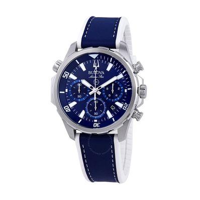 Reloj-para-Caballero-Bulova-Marine-Star-Resistente-al-Agua-Azul-96B287-W