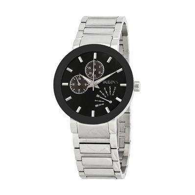 Reloj-para-Caballero-Bulova-Modern-Resistente-al-Agua-Plata-96C105-W