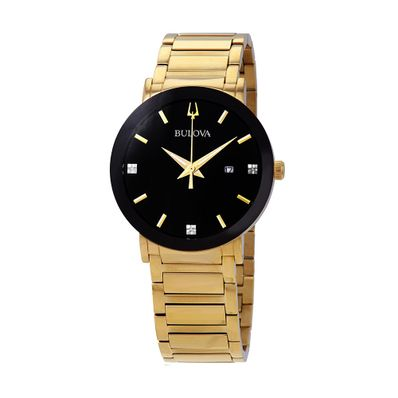 Reloj-para-Caballero-Bulova-Modern-Acero-Inoxidable-Dorado-97D116-W