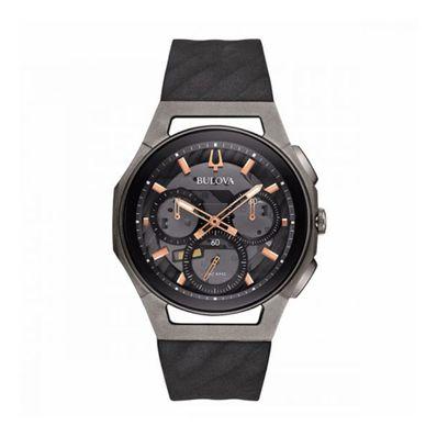 Reloj-para-Caballero-Bulova-Curv-Resistente-al-Agua-Gris-98A162-W