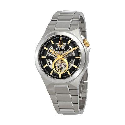 Reloj-para-Caballero-Bulova-Automatic-Acero-Inoxidable-Plata-98A224-W