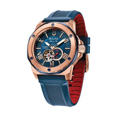 Reloj-para-Caballero-Bulova-Marine-Star-Resistente-al-Agua-Azul-98A227-W