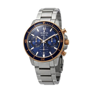 Reloj-para-Caballero-Bulova-Marine-Star-Acero-Inoxidable-Plata-98B301-W