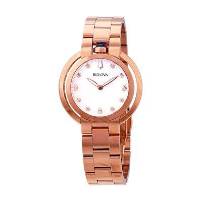 Reloj-para-Dama-Bulova-Rubaiyat-Cristal-de-Zafiro-Dorado-97P130-W