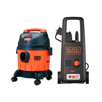 Combo-Black---Decker-Hidrolavadora-de-Presion-1400W---Aspiradora-de-Polvo-y-Liquido-1200W-10-Litros-COMBO1-W