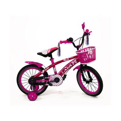 Bicicleta-para-niños-Unisex-Ams-Aro-16-Rosada-UT-BIKE-16-PK-W