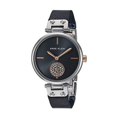 Reloj-para-Dama-Anne-Klein-35-Swarovski-Negro-3001BLRT-W